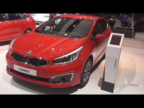 Kia Cee'd II 1.0 TGDI Swiss Champion (2016) Exterior and Interior in 3D
