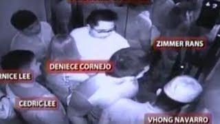 CCTV Footage Of Vhong Navarro Case Vs Denise and Cedric Lee Was Shown By NBI