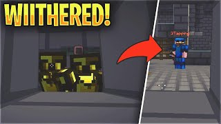 THE RICHEST RAID OF THE MAP (WITHER) - LIVING ON A SKYBRIDGE #3 | Minecraft HCF