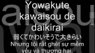 Sayonara daisukina hito (goodbye my love) lyric + vietsub
