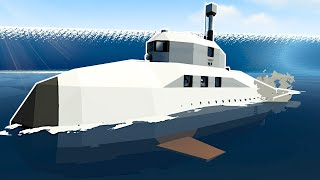 Tsunami Survival but in a MINI SUBMARINE! - Stormworks Multiplayer Gameplay
