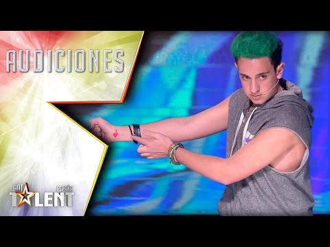 ¡La magia de Roger convierte la Coca-Cola en leche! | Audiciones 3 | Got Talent España 2017