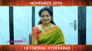 Playback singer Sunitha about live concert with three sing..