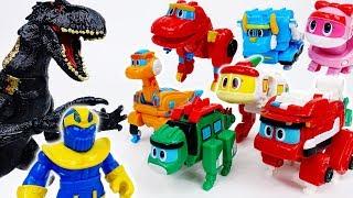 Go Go Dino S4 Stop Bothering Us Thanos~! - ToyMart TV