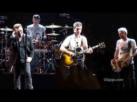 U2 & Noel Gallagher Don't Look Back In Anger London 2017-07-08 - U2gigs.com