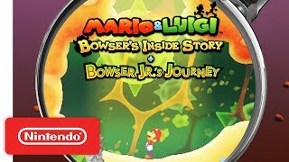 Mario & Luigi: Bowser's Inside Story + Bowser Jr.'s Journey - Into the Body Trailer - Nintendo 3DS