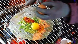 mon ăn đường phố Việt Nam - Pizza Việt / Bánh Tráng Nướng (Đà Lạt)