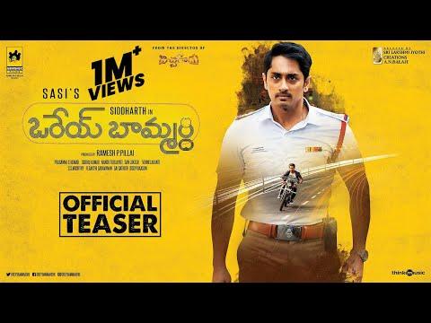 Orey Baammardhi Official Teaser - Siddharth