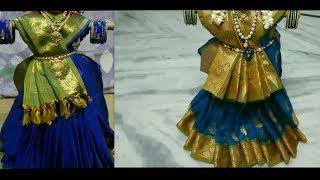 how to tie the saree