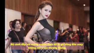Tin Tức Sao Việt - Hương Giang Idol khoe vòng một 'nóng bỏng' khi làm MC tại một sự kiện tại TP HCM