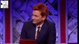 David Tennant destroys the Tories on Have I got news for you