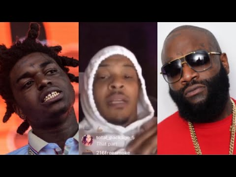 RICK ROSS DEFENDS KODAK BLACK & TI IS ACCUSED OF CLOUT CHASING | TI RESPONDS