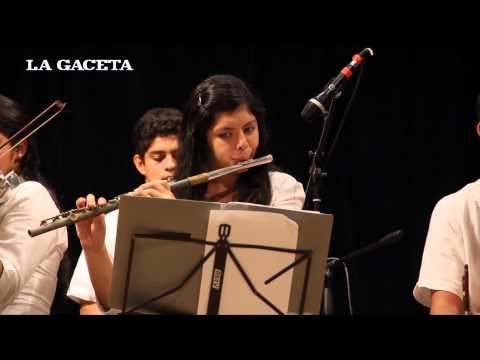 La orquesta de Cateura sorprendió a los tucumanos
