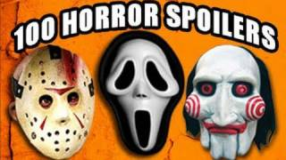 100 Horror Movie Spoilers in 5 Minutes