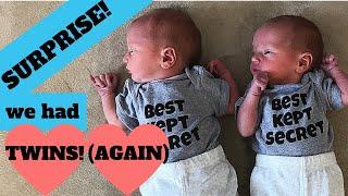 Surprise! We Had Twins AGAIN - Best Kept Secret - MirusFamilyMultiples
