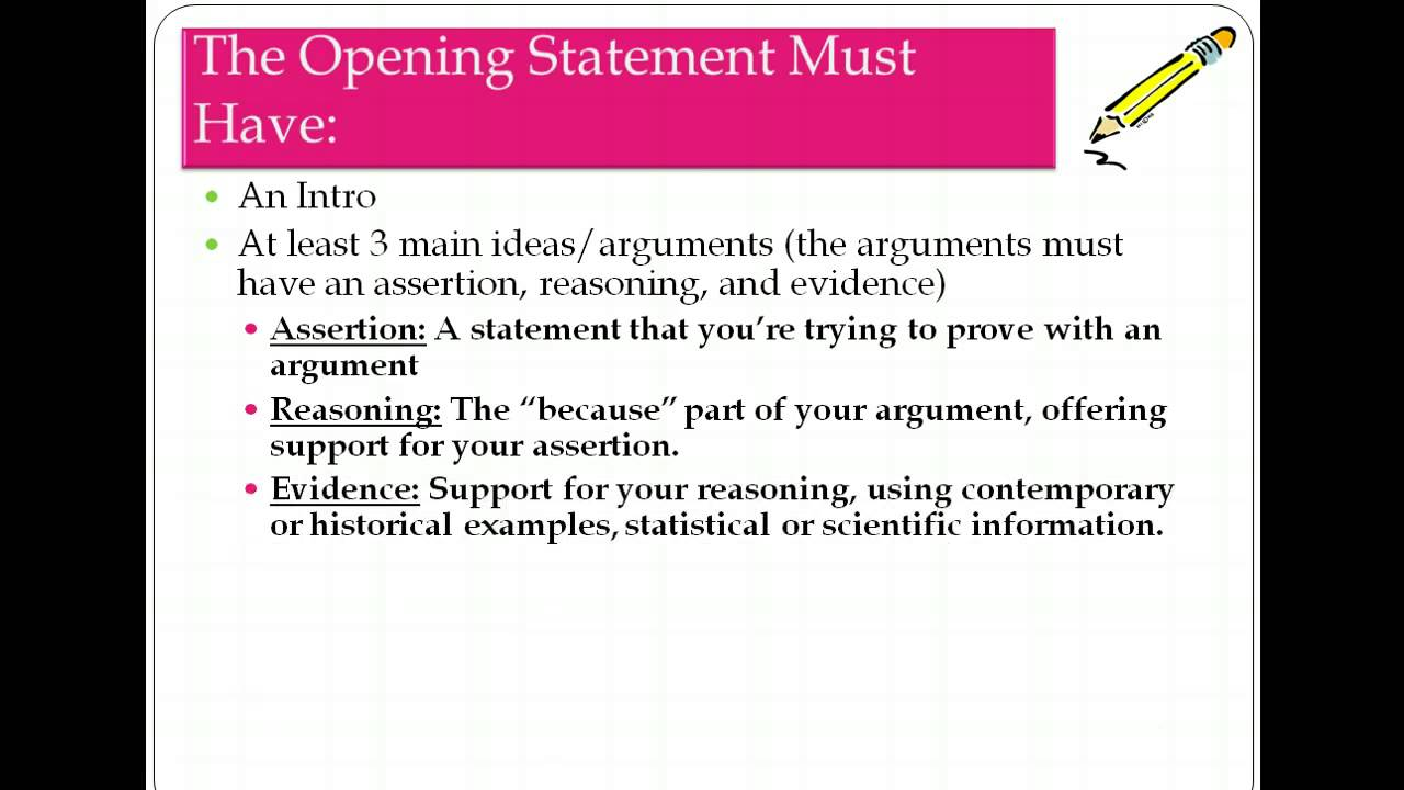 writing a closing statement mock trial