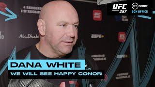 Dana White on Conor McGregor, Dustin Poirier and Ottman Azaitar being cut from UFC