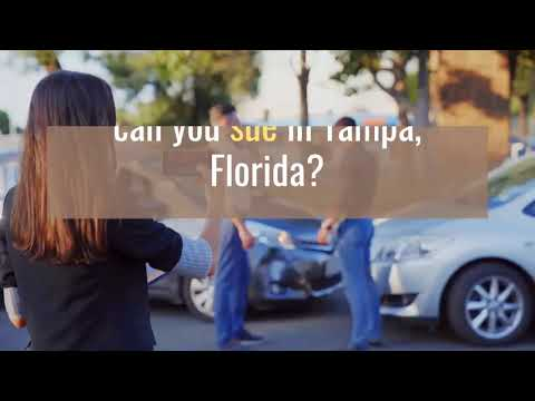 To Sue or Not to Sue? Options After a Car Accident in Tampa, Florida