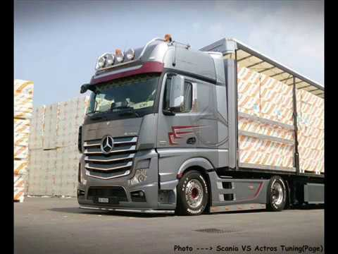 mb actros mp4 tuning by team jenal ag transporte part 3. Black Bedroom Furniture Sets. Home Design Ideas