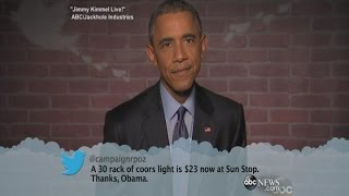 Mean Tweets: President Obama on
