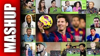 LIONEL MESSI The Worlds Greatest HD Reactions Mashup
