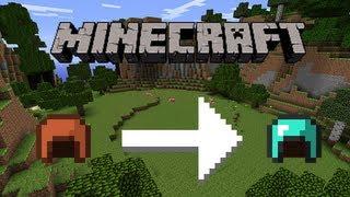 Minecraft - Dye Leather Armor to Diamond