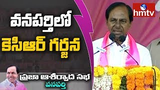 KCR Full Speech @ Wanaparthy..