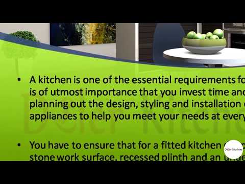Get a Fitted Kitchen to Update Your Home