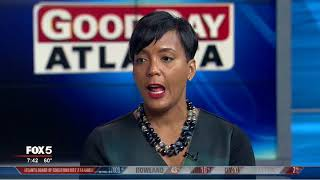 Atlanta mayoral candidate Keisha Lance Bottoms speaks about runoff