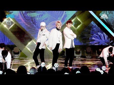 [예능연구소 직캠] 엑소 첸백시 花요일 @쇼!음악중심_20180414 Blooming Day EXO-CBX in 4K