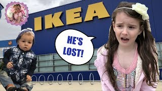 *OH NO!* REBORN TODDLER MISSING IN IKEA!