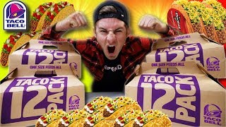 THE TACO BELL TROLLFEAST! (10,000+ CALORIES)