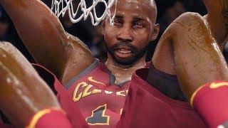 INSANE CAREER ENDING 360 POSTER DUNK! NBA Live 18 The One Career Gameplay