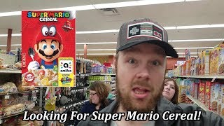 Super Mario Cereal SOLD OUT?