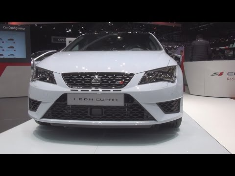 Seat Leon Cupra 2.0 TSI 290 hp 6DSG Start&Stop (2016) Exterior and Interior in 3D