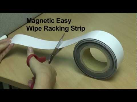 Magnetic Easy Wipe Strip/Tape