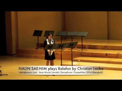NALIN SAE NIM plays Balafon by Christian Lauba
