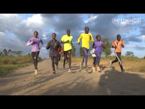 L'équipe olympique d'athlètes refugiés s'entraîne avant les Jeux de Rio 2016