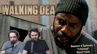 "The Walking Dead Season 4 Episode 2 Reaction ""Infected"" (2/2)"