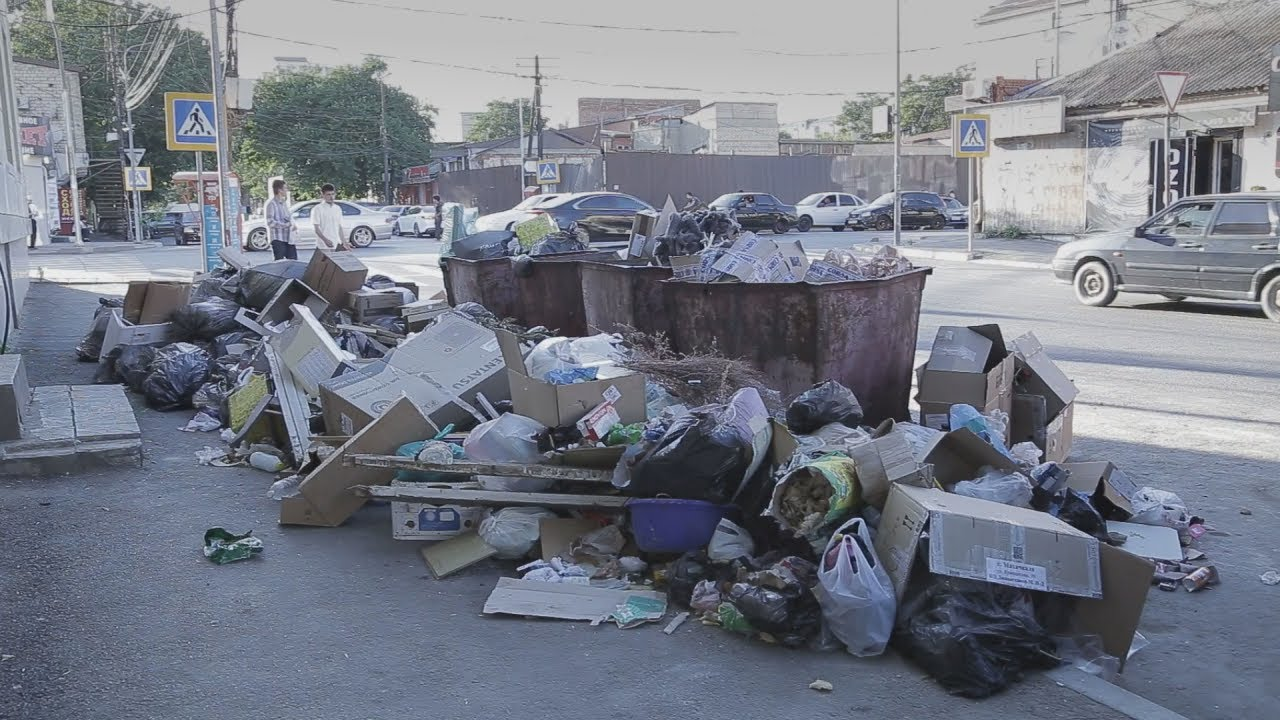 Дагестан: мусорный коллапс в Махачкале