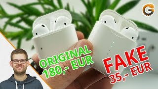 TWS i10: Fake Apple AirPods für 30€ / Deutsch