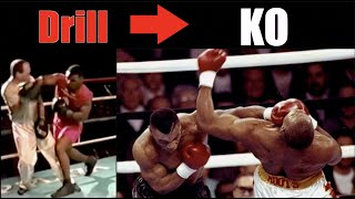 Mike Tyson | Crazy Drills That Became KOs - Technique Breakdown