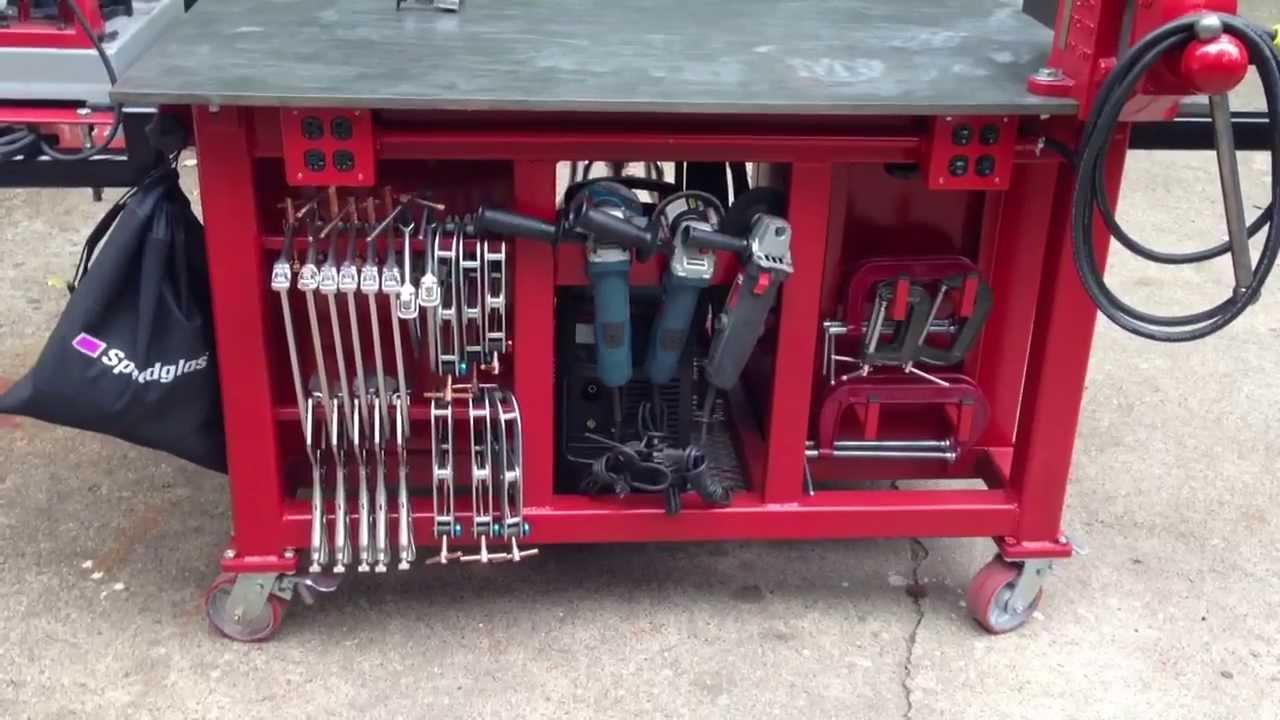 Garage Work Bench Organization