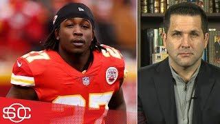 Kareem Hunt's NFL future 'murky' after release from Chiefs – Adam Schefter | SportsCenter