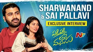 Sarwanand, Sai Pallavi excl. interview; Padi Padi Leche Ma..