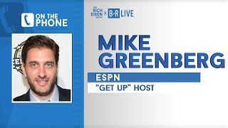 ESPN's Mike Greenberg and Rich Eisen Lament Sam Darnold's Mononucleosis | Full Interview | 9/12/19