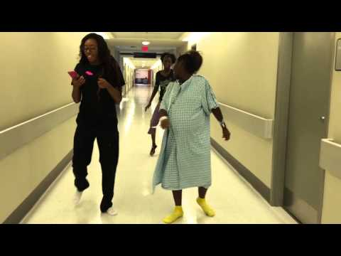 Mother In Labor Does The Nae Nae To Help With Contractions