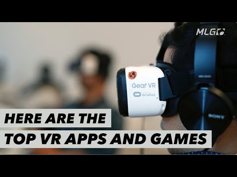Top VR apps and games