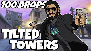 100 Drops - [Tilted Towers]