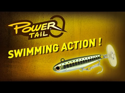 Fiiish Power Tail 44mm 8g Slow - Natural Trout